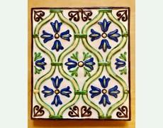 Ceramica pictata - set 4 flori