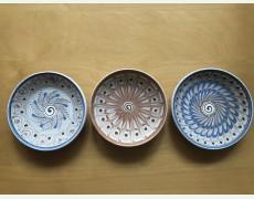 Set 3 farfurii ceramice Horezu