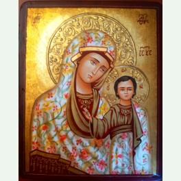 Icoana Fecioara Maria cu Pruncul Iisus