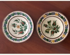 Set de 2 farfurii decorative Horezu